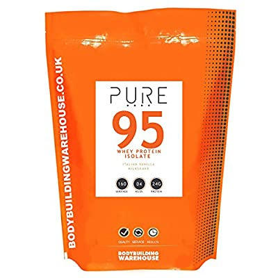 Bodybuilding Warehouse Pure Whey Protein Isolate 95 by Bodybuilding Warehouse