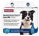 DuoProtect Hund (15-30 kg) | Pflege & Schutz für Hunde | Physikalische Parasitenabwehr | Mit Dimeticon & Aleo Vera | Wirkt bis zu 30 Tage | 3 x 3 ml