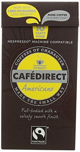 Cafédirect Fairtrade Nespresso Compatible Coffee Capsules Espresso 51BfQAacIvL