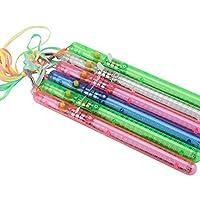 KingSaid 30 X LED Glow Flashing Wand Blinking Rainbow Light Up Sticks Party Concert Prom