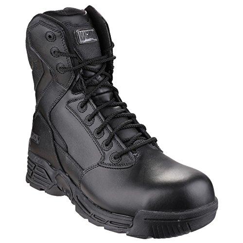 Magnum Stealth Force 8.0 Leather CT CP Sidezip WPi Botte De Marche Black