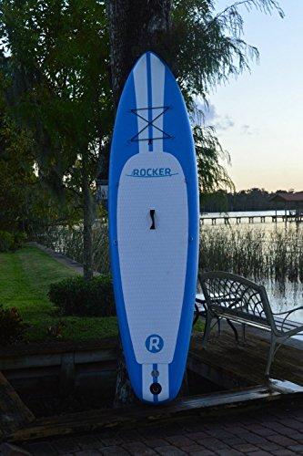 Aufblasbares Paddleboard iRocker 304x76x15cm SUP-Paket (Blau) -