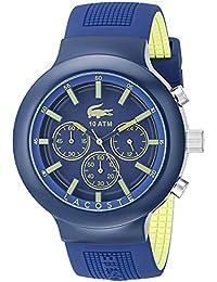 Lacoste Herren-Armbanduhr Analog Quarz Silikon 2010797