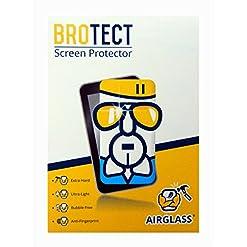 BROTECT AirGlass Premium Pellicola in Vetro per Garmin Camper 770LMT-D, Elevata trasparenza, Pellicola Protettiva, Proteggi Schermo