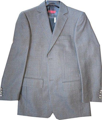 Anzug - 3 Teiler - von Studio Coletti in Braun / Schwarz Gr. 46