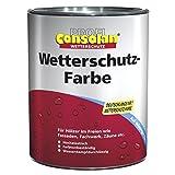 Profi Consolan Wetterschutzfarbe Rotbraun 2,5 Liter (13,99 Euro/Liter)