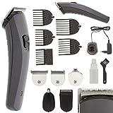 Eurosell Haarschneider Haartrimer Bart Haar Body Akku kabellos / Kabel mit Aufsätzen und...