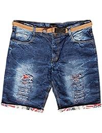 Krystle Boy's Cotton Distressed Denim Shorts