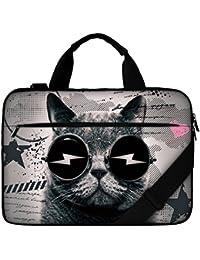 Luxburg® Carry Bag Sac à bandoulière de haute qualité pour notebook/ordinateur portable. Souple Avec Poignée
