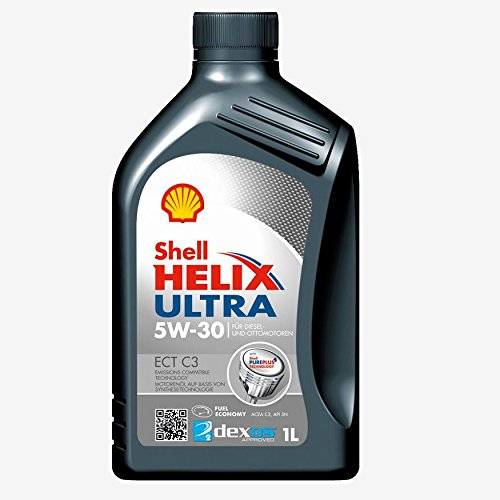 Shell Helix Ultra 5 W40 550042844 Motorenöl, Gold, 1
