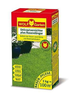 WOLF-Garten Unkrautvernichter plus Rasendünger LQ 50 für 50 qm von WOLF-Garten bei Du und dein Garten