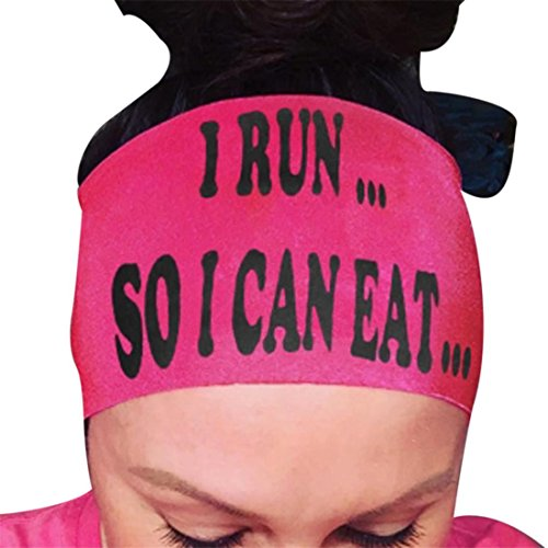 Atdoshop Damen weiche Baumwolle Tie Dye Elastic Stretch Schweißband Headbands verstellbar Mädchen Haar Band sortiert Farben Yoga Stirnband (Pink) (Lilly Pulitzer-weiß-baumwolle)