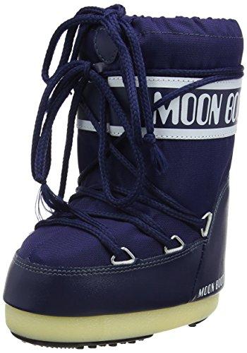 Moon-boot Unisex-Kinder Schneestiefel, Rot (Red 3), 35-38 EU