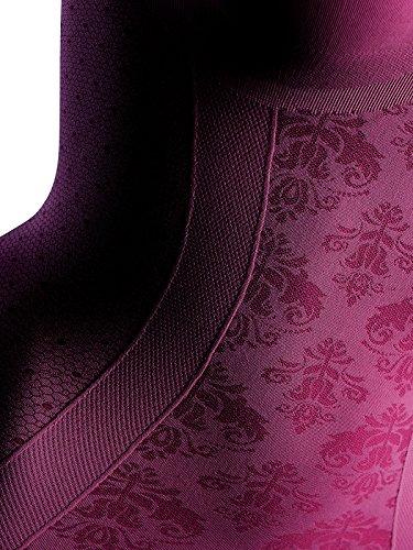 Slim Secret Damen Emana® Zaubertop mit Ornametdesign SK2 Beere