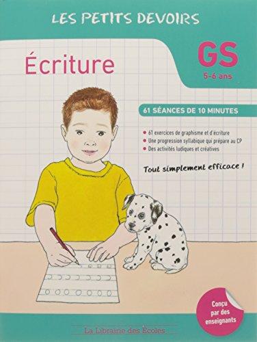 Ecriture GS
