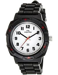 Maxima Analog White Dial Men's Watch - 27660PPGW