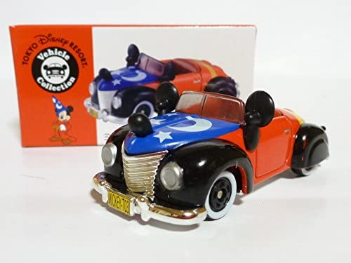 [Roadster Tokyo Disney Resort Mickey (Fantasia)] Tomica TDR Disney Vehicle Collection Mickey's Roadster Tomica (japan import) | Des Matériaux Supérieurs