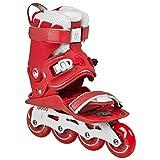 Powerslide Training und Ausdauer, Freizeit und Fitness-Inline-Skate Doop Skates Classic Rot