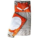 Barnsovsäck räv   sovsäck för barn   mummie-sovsäck lätt och kompakt   165 x 75 cm