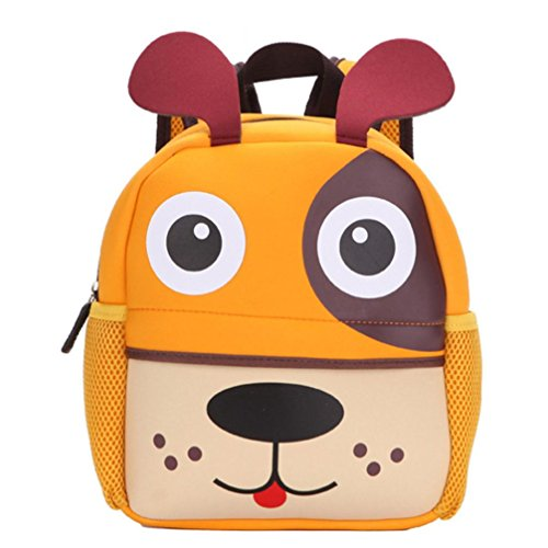 ❤️XINANTIME - Bolsa Escuela Bolso Escolar Dibujos Animados Infantil Viaje Mochila para Guardería Primaria Niño Niña (21cm (L) * 26 (H) * 8cm (W), ❤️Perrito)