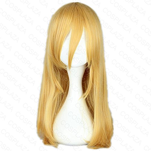 Zoe Hanji Kostüm Cosplay - COSPLAZA Perücke Blond Anime Cosplay Wig Karneval Party Haar Attack on Titan Krista Lenz