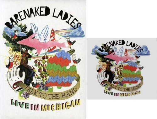 Barenaked Ladies - Talk to the Hand - Live in Michigan (CD and DVD) (2 pack) -