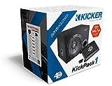 Kicker KPX350.1 Kicker 30cm Basskiste und Car-Hifi 1-Kanal Verstärker