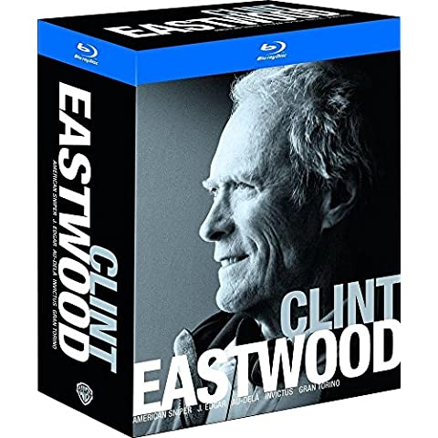 Clint Eastwood - Coffret: American Sniper + Gran Torino + J. Edgar + Invictus + Au-delà