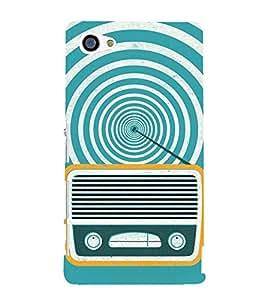 Radio 3D Hard Polycarbonate Designer Back Case Cover for Sony Xperia Z5 Compact :: Sony Xperia Z5 Mini