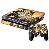Grand Theft Auto 5 GTA V PS4 Playstation 4 Console + 2 Controllers Skin Sticker Vinyl Decal Set by Skins 'R' Us