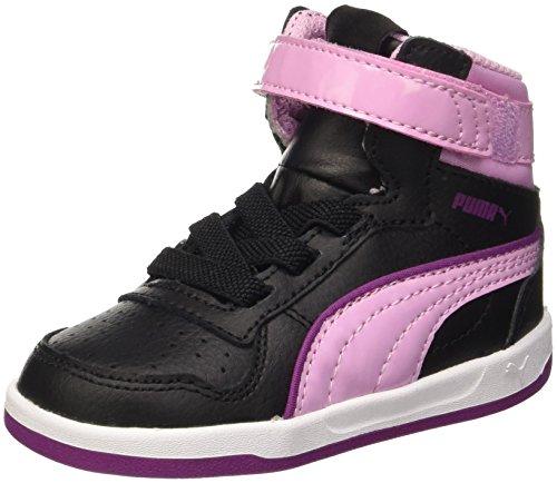 Puma V Liza Mid Dazz Inf Chaussures Noir/Pastel Lavender 7