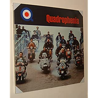 The Mods Quadrophenia Film Scene Sting Ace Face Brighton Stretched & Mounted Canvas Art Print Brand New