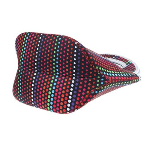 Coloré(TM) Sac Repas Lunch Bag Sac à Déjeuner Isotherme Fourre-tout isolé thermiquement Pique-nique Déjeuner Refroidisseur de sac Cool Bag Bagbag (Rouge)