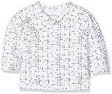 Noppies Unisex Baby T-Shirt U Tee ls Grayslake, Weiß (Optic White C003), 56