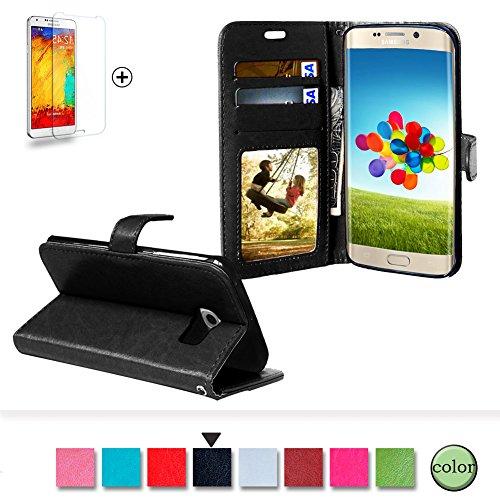 Samsung Galaxy S6 Edge Funda [Regalos gratis protector de pantalla], Funyye Prima...