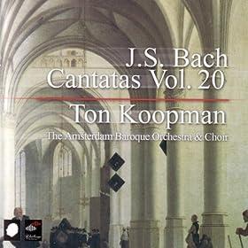 """Corus """"Lobet Gott in seinen Reichen""""BWV 11 1.: Recitative (tenor) : """"Der herr jesus hub seine H�nde auf"""""""