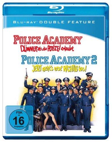 Police Academy 1+2 [Blu-ray]