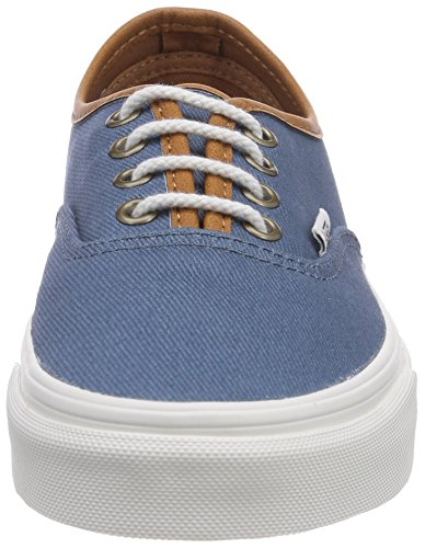 Vans U Authentic , Baskets mode mixte adulte Bleu (Bluestone)