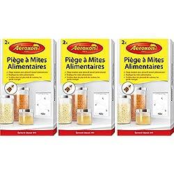 Aeroxon Piège à Mites Alimentaires - Offre promotionnelle - 6 pièges