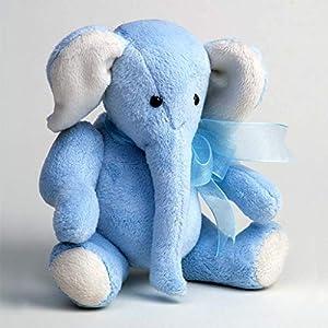 Canterbury Bears ltd 113 Ezra - Elefante Suave, Color Azul Claro