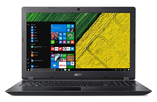 Acer Aspire A315-31-C389 PC Portable 15' HD Noir (Intel Celeron, 4 Go de RAM, 1 To, Windows 10)