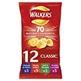 Walkers Classic Variety Crisps, 25 g, Pack of 12