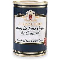 Bloc de Foie Gras de Canard 400g, label Canards à Foie Gras du Sud-Ouest, qualité Artisanale