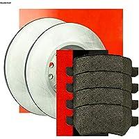 ATE Bremsscheiben 258mm Bremsbeläge vorne Dacia Dokker Lodgy