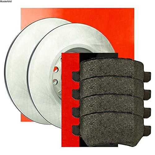Metzger Bremsscheiben ø265mm + Bremsbeläge Set Vorne