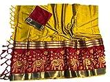Ayaan Textiles Woman's Cotton Silk Saree