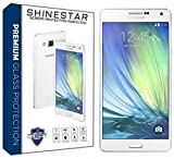 SHINESTAR Screen Protector Tempered Glass, Crystal Clear, 9H Hardness Glass Screen Protector for Samsung Galaxy A7(2015)