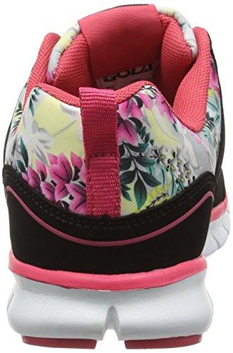 Gola Termas 2, Chaussures de Running Compétition Femme, Noir Noir/rose
