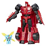 Transformers Robots in Disguise Power Surge Sideswipe and Wind Strike Toy - Red