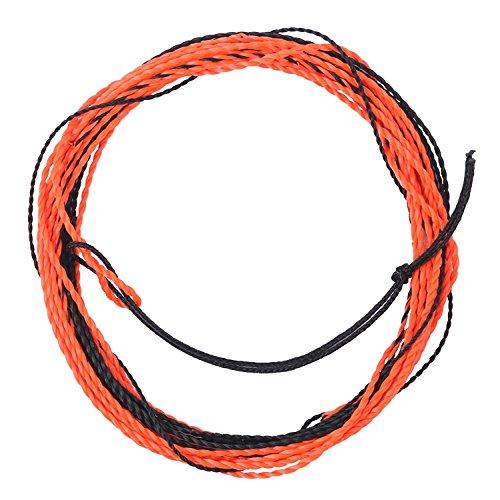 Maxcatch Tenkara Taperschnur verflochtene Flugangelschnur Furled Linie 12/13 ft (Orange/Black, 13ft) (Fliegenfischen Präsentation)